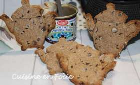 Mes p'Tea biscuits marrons-noisette et chocolat