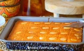 Namoura pâtisserie orientale à la semoule