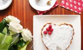 Gâteau Mont-Blanc antillais