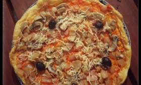 Pain nuage version pizza