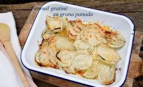 Fenouil gratiné au grana panada