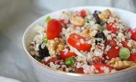 Salade de quinoa fraîche et gourmande
