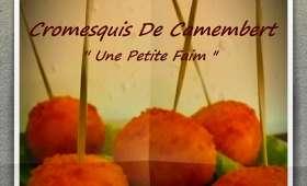 Cromesquis de camembert
