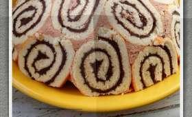 Charlotte russe au chocolat au lait