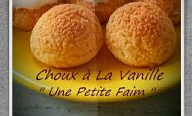 Choux à la vanille