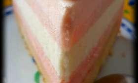Entremets magique aux agrumes