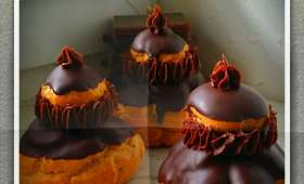 Religieuse au chocolat