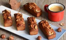Petits financiers gianduja noisettes
