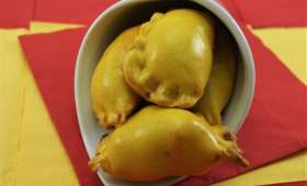Empanadillas chèvre butternut caramélisé ou viande sauce tomate