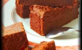 Gâteau au chocolat à la compote de pommes