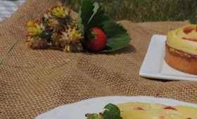 Tarte fraise & verveine
