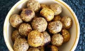 Boules d'énergie aux fruits secs et aux noix