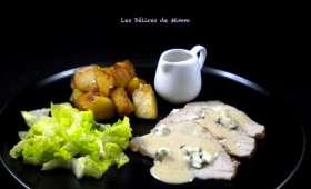 Rôti de porc au Roquefort