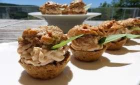 Mini muffins salés aux saveurs de l'Italie