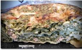 Lasagne au saumon et à l'oseille