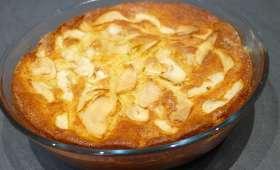 Gâteau fondant aux pommes et au mascarpone