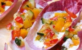 Tacos d'endives aux légumes