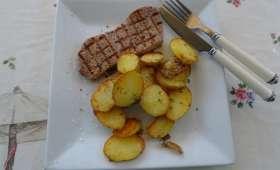 Pommes de terre Noirmoutier à la graisse de canard