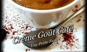 Crème goût café