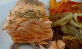 Pavés de saumon au grill-plancha