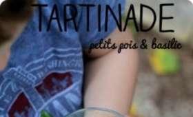 Tartinade de petits pois & basilic