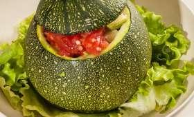 Courgettes farcies à la tomate et à la fêta