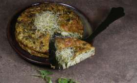 Gâteau de roquette aux fromages