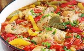 Recette poulet basquaise facile