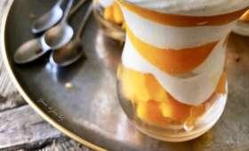 Crème de yaourt grecque à la mangue
