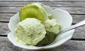 Glace avocat, citron vert et crème de coco (sans sorbetière) - Philandcocuisine