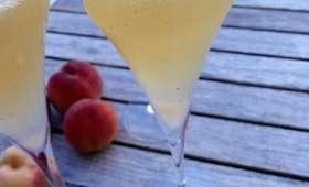 Le Bellini (cocktail à la pêche et au champagne) - Philandcocuisine
