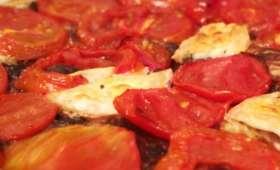 Tarte fine drômoise à la tomate – BouffePorn