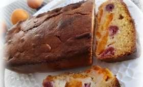 Cake abricots - framboises - Ma cuisine salée ... Mes envies sucrées ...