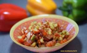 Salade orientale au cumin