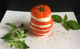 Tomate mozzarella simple et bon