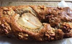 Cake au Roquefort poires et noix
