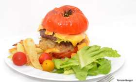 Tomato Burger.