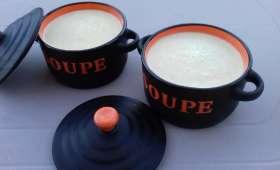 Crème de courgette à la muscade et au fromage ST MORET - Emma.cuisine