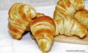 Croissants feuilletés express
