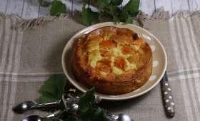 Gâteau à l'envers aux abricots