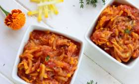 Compotée courgettes & tomates