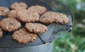 Cookies rustiques à l'okara et au chocolat
