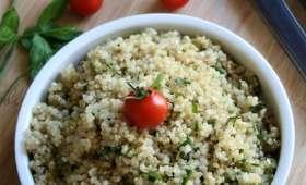 Taboulé à ma façon, au quinoa