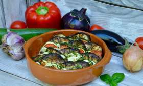 Tian de légumes du soleil au basilic