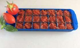Concentré de tomates maison au Thermomix