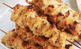 Chich taouk libanais, recette brochettes de poulet facile