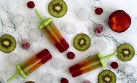 Glace aux fruits pour les enfants
