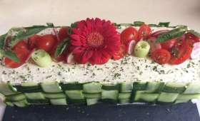 Sandwich-cake des jeunes mariés - NathyChef