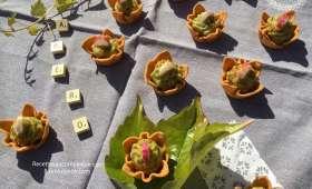 Petite bouchée spicy au guacamole pour l'apéro