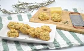 Cookies salés parmesan romarin
